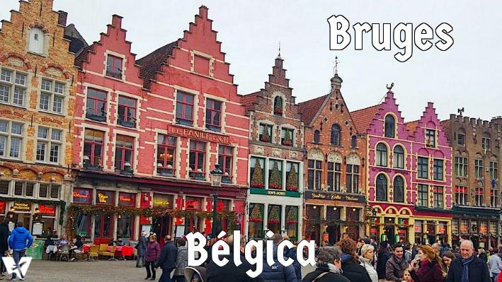 Passeando por Bruges: um cartão postal em tamanho real