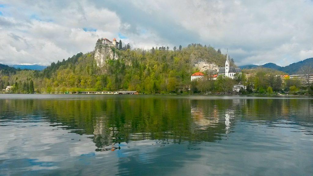 Castelo Bled, viagem Eslovênia