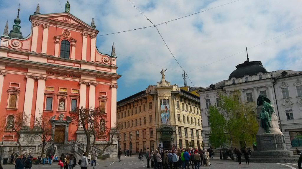 Europa Central, viagem Eslovênia