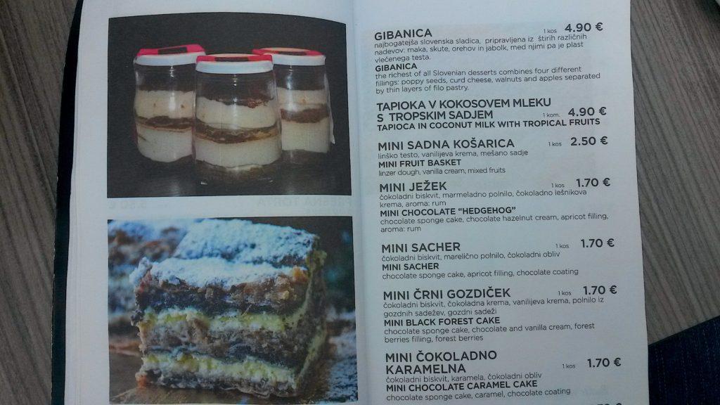 Eslovênia Turismo, gastronomia
