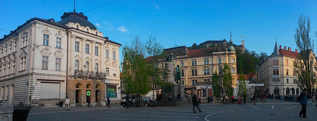 Praça, Turismo em Liubliana