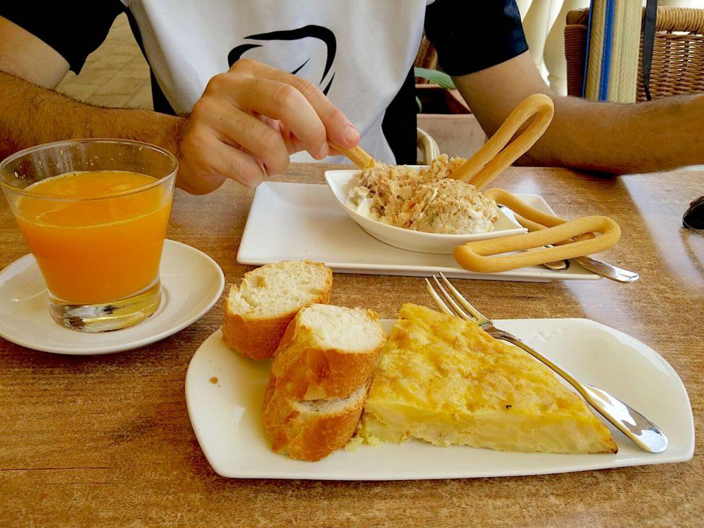 Marinera, comida murciana